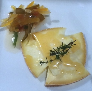 Graviera and Candied Peel Starter