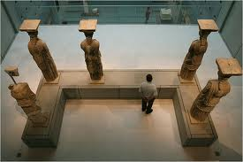 The missing caryatid
