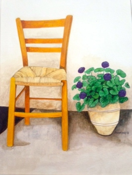 Watercolour by Maggie Hardy